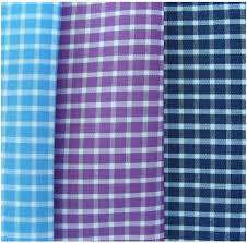 checks shirt fabric