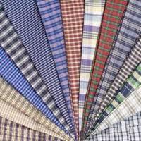 Shirting Fabric:172-208 gsm, Cotton, TC (65/35%) or CVC, Dyed, Plain