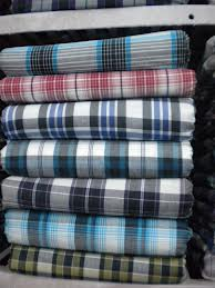 Shirting Fabric:150 GSM, 100% Polyester, 65% Cotton / 35% Polyester, Yarn dyed, Plain