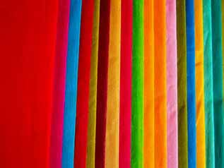 Voile Fabric:90-150 GSM, 100% Polyester, Dyed, Plain