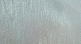 Organza  fabric:40-45 GSM, 100% Polyester, Greige, Plain