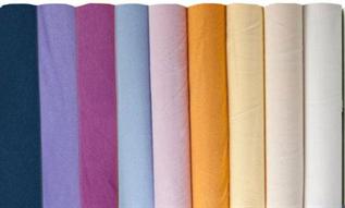 80-220 GSM, 100% Cotton, Dyed, Plain