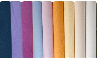 Cotton Fabric:85-120 GSM, 100% Cotton, Dyed, Plain / Twill / Satin