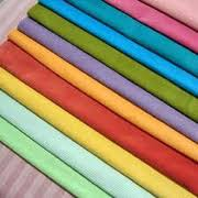 Cotton Fabric:140-180 gsm , 100% Cotton Flannel, Dyed, Plain