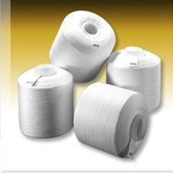 Polyester Yarn:Raw white, For knitting, 40s, 100% Polyester