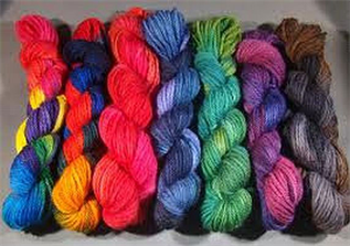 Dyed, For making fabric, 21 Micron,  100% Woolen