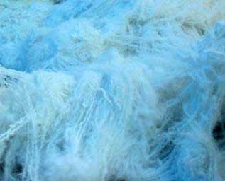 Polyester Yarn:Raw white, For mops manufacturing, 600 Denier/1152 F, 100% Polyester