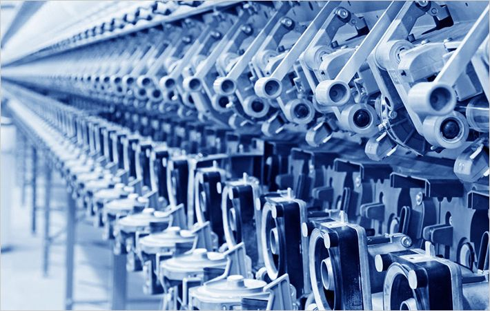 Embroidery machine maker Richpeace Group at Linkage Vietnam Saigon 2005