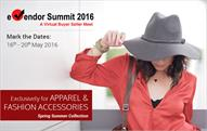 E-vendor summit for apparel & accessories next month