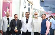 From left: Manohar Samuel, Dilip Gaur, Rajeev Gopal, Sunil Sethi, and Ritesh Khandelwal