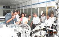 Textiles Secretary visits Palladam Hi-tech Weaving Park