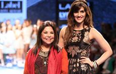 Designer Ritu Kumar shows tennis inspired line at LFW