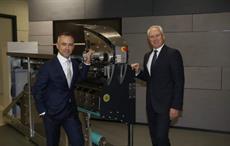 Jochen Adler (left) takes over from Dr. Klaus Schäfer Courtesy: Oerlikon