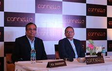 RK Chaudhary, Advisor Marketing, Mayur; and Prabir Bandyopadhyay (right), CEO, RSWM