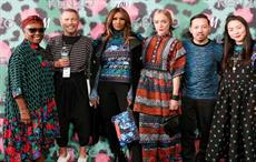 Jean-Paul Goude unveils KENZO x H&M brand at Pier 36,
