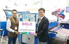 Kornit Digital's Allegro sold on first day at ITMA Asia
