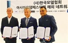 Paco De Jaimes, chairman, WFW; Yang Eui Sig, chairman, KMA and Badal Saboo official ambassador of WFW for Asia & Middle East. Courtesy: WFW