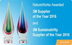 NatureWorks bags two 3M Supplier of the Year Awards