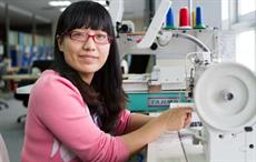 Coats employee in China. Courtesy: Coats