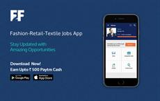 An App exclusively for Fashion, Retail & Textile Jobs
