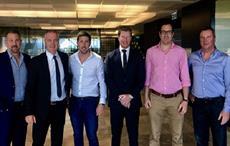 Left to right: Chris Dixon (ADA), Matt Graham (ADA), Mark Foote (LE Gear), Daniel Keighran (VC), Ed Holbrook (ADA), Archie Fraser (LE Gear). Courtesy: ADA