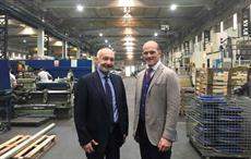 Stefano Gallucci (left), CEO, Santex Rimar Group, and Tamer Hasbay, President, Has Group; Courtesy: Santex Rimar