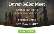Buyer-seller meet in Shengze on March 18