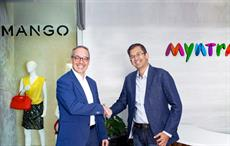 Mango vice-chairman and member of the board of directors Daniel Lopez (L) with Ananth Narayanan, CEO, Myntra & Jabong. Courtesy: Myntra