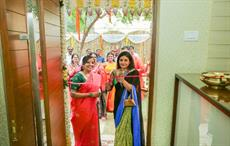 Subhashini Srinivasan opens new sari boutique in Chennai