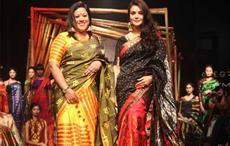 Sanjukta Dutta and Preity Zinta at Lakme Fashion Week 2017. Courtesy: Sanjukta's Studio