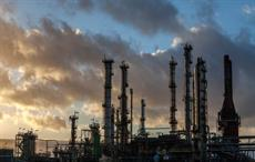 Western sector of the Total's France based Gonfreville L'Orcher refinery at sunset; Courtesy: Total