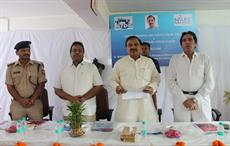Minister Mahesh Sharma launching Responsible Citizen initiative at ATDC Campus in Noida. Courtesy: ATDC