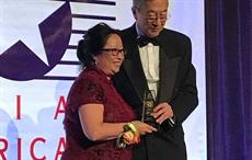 Applied DNA VP bags 50 Asian Americans in Business Award