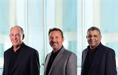 (left to right) Stephen Dearnley, Mike Sherman, Ram Menen