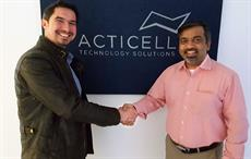 Christian Schimper, MD, Acticell Technology Solutions (L) and Ganesh Srinivasan, executive director innovation, Resil Chemicals; Courtesy: Resil Chemicals
