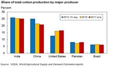 Top 5 countries to produce 76% of global cotton crop