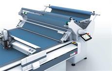 Zund unveils cradle feeder roll-feed system for fabrics