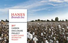 Hanes comes out with carbon emissions report