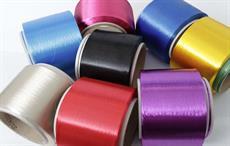 Polyester yarns; Courtesy: IVL