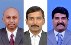 (L-R: B Lakshminarayana, R Elango and R Ravichandran); Courtesy: SIMA
