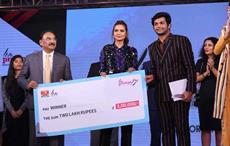 Abhishek Tibrewal bagged first prize at Liva Protégé 2017