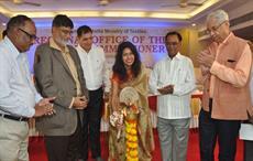 Dr Kavita Gupta inaugurating Buyer Seller Meet (B2B) and Powerloom Textile Exhibition