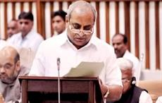 Gujarat finance minister Nitin Patel. Courtesy: Global Gujarat News