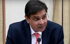 RBI governor Urjit Patel addressing a press conference post release of sixth bi-monthly statement. Courtesy: Youtube/RBI