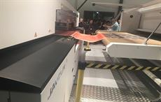 SPGPrints Javelin printer being demonstrated at the company's Experience Center in Netherlands. Courtesy: SPGPrints