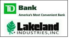 Lakeland secures revolving line of credit with TD Bank