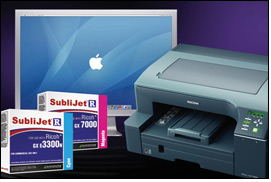 SubliJet-R sublimation for Mac OS & Ricoh inkjet printers
