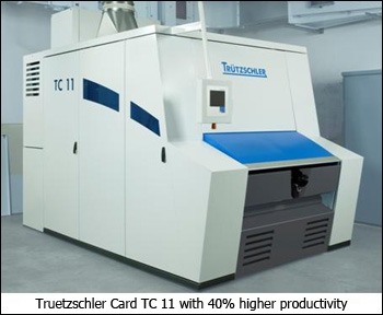 New Trützschler Card TC 11 to take centre stage in ITMA
