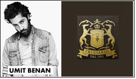 Umit Benan Sahin as fashion consultant for Trussardi