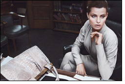Brazilian supermodel stars in Donna Karan's fall campaign